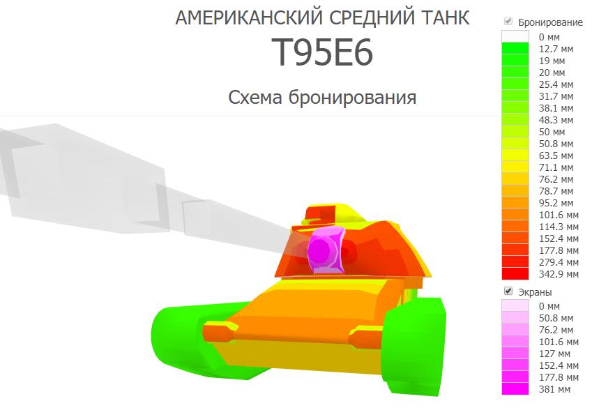 Бронирование T95E6