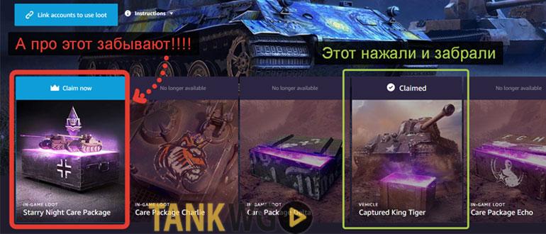 Приобрёл у Вас сегодня пакет Twitch «Starry Night» (Звёздная ночь) но на аккаунт пришёл только King Tiger и всё